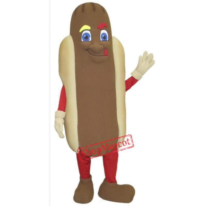 High Quality Hot Dog Mascot Costume