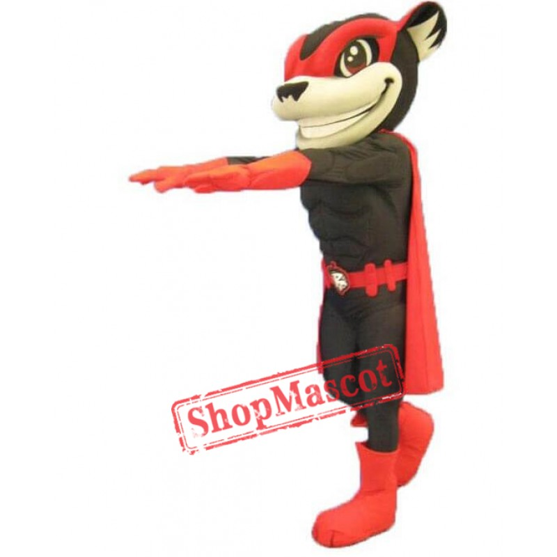 Flying Squirrel Mascot Costume