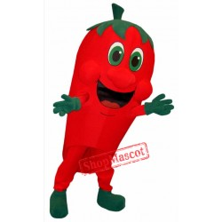 Red Pepper Mascot Costume