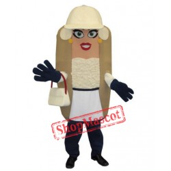 Beautiful Hotdog Mascot Costume