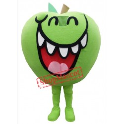 Green Apple Mascot Costume Free Shipping