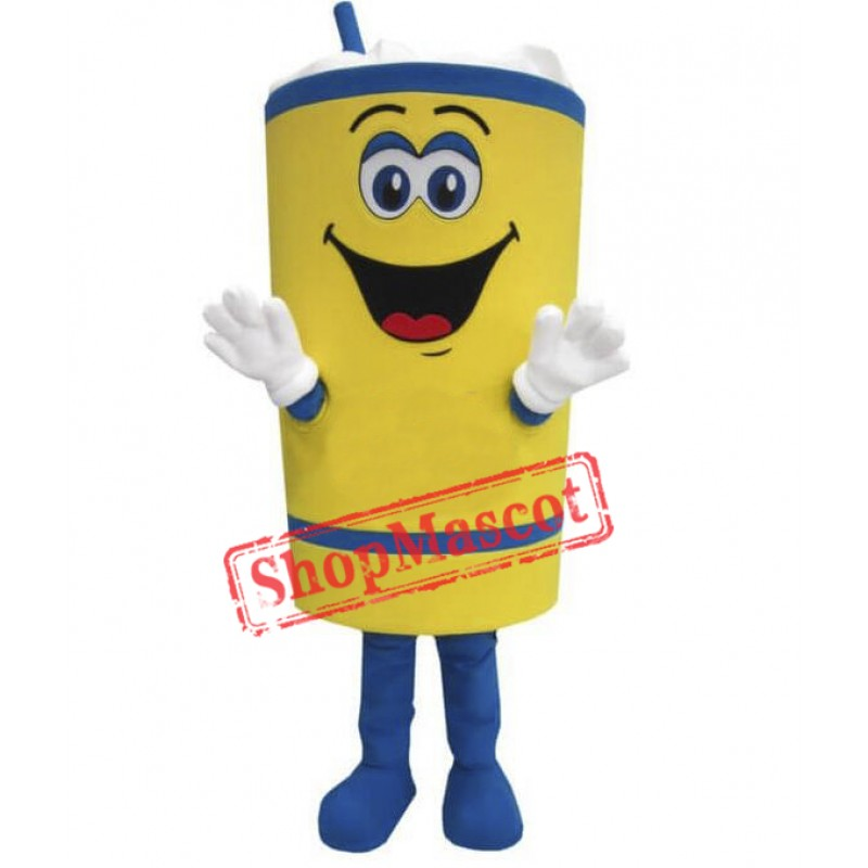 Happy Cup Mascot Costume