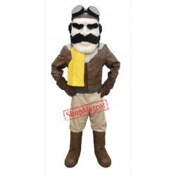High Quality Aviator Mascot Costume