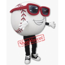Happy Baseball Mascot Costume