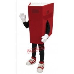 Red Book Mascot Costume