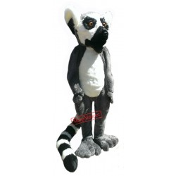 High Quality Furry Lemur Mascot Costume