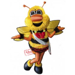 Battle Bee Mascot Costume