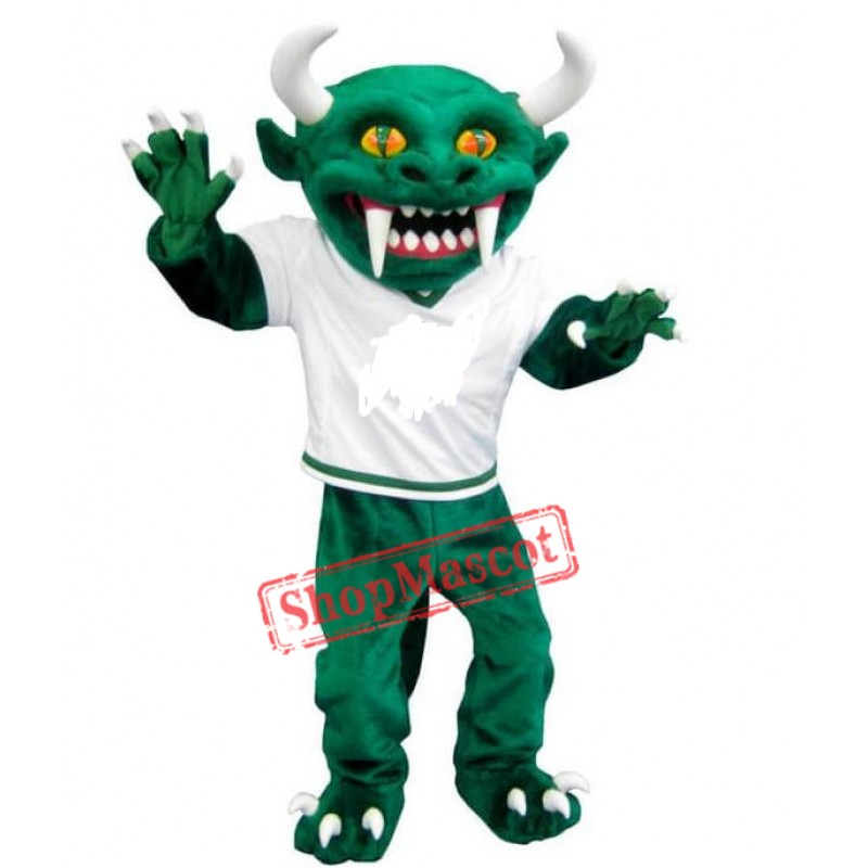 Green Monster Hodag Mascot Costume