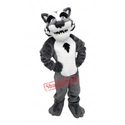 College Lightweight Wolf Mascot Costume