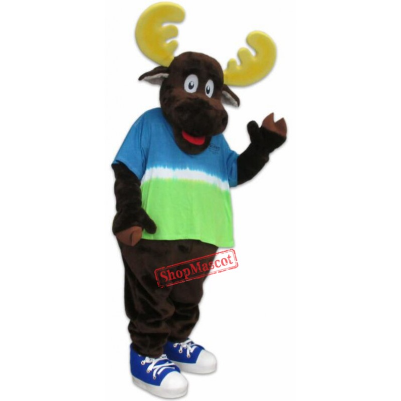 High Quality Lightweight Moose Mascot Costume