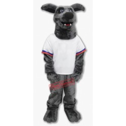 Whippet Dog Mascot Costume