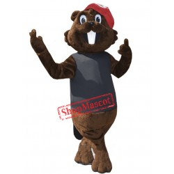 Cute Lightweight Beaver Mascot Costume