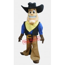 High Quality Lightweight Cowboy Mascot Costume