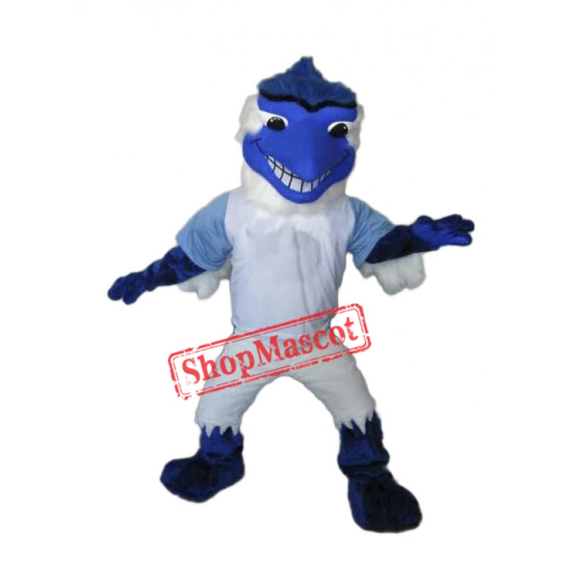 College Fierce Blue Jay Mascot Costume