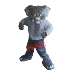 Power Fierce Elephant Mascot Costume
