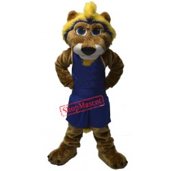 Basketball Lion Mascot Costume