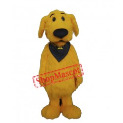 High Quality Lightweight Yellow Dog Mascot Costume