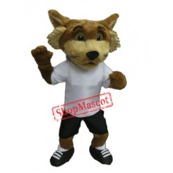 College Lightweight Fox Mascot Costume