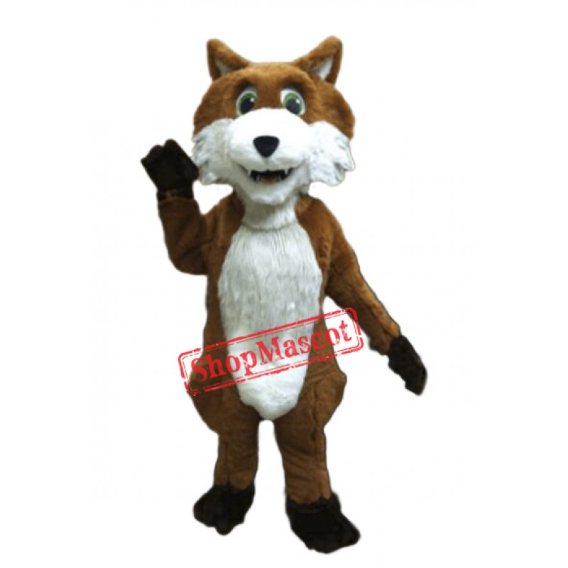 Cute Lightweight Fox Mascot Costume