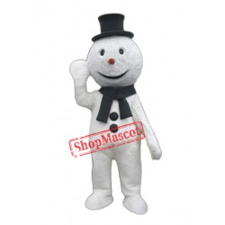 High Quality Snowman Mascot Costume