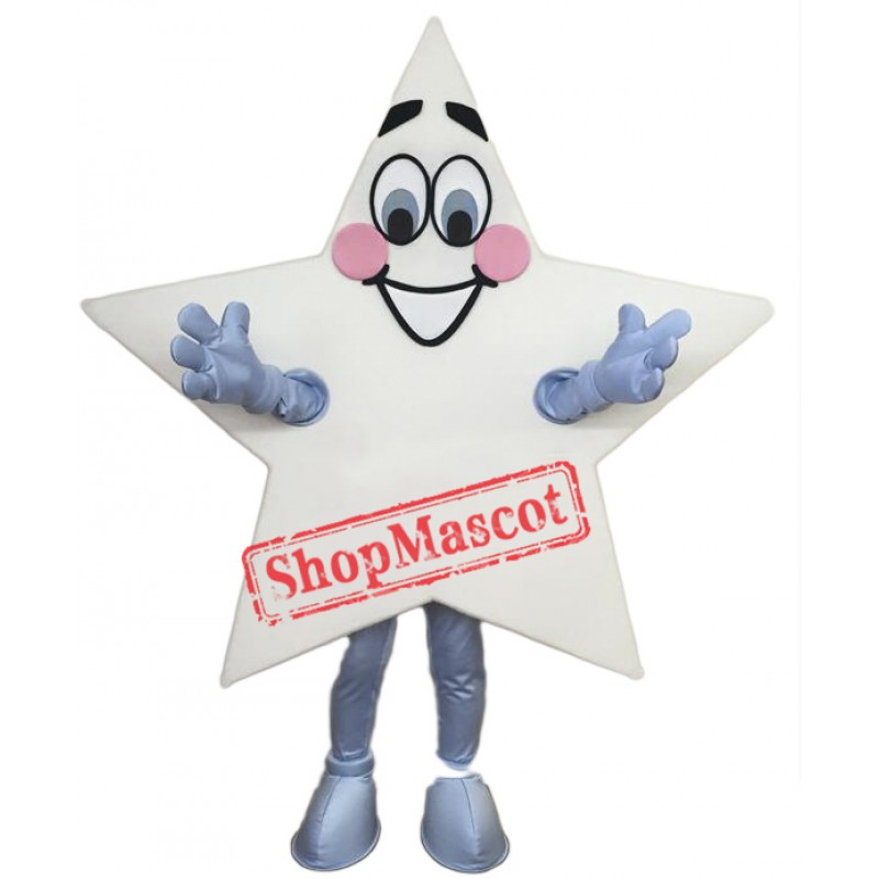 Happy Star Mascot Costume