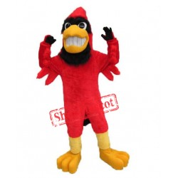 College Lightweight Red Cardinal Mascot Costume