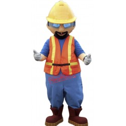 High Quality Lightweight Builder Mascot Costume
