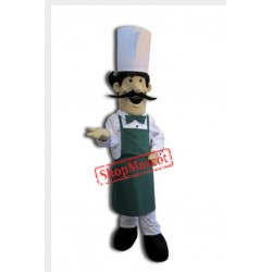 Pizza Chef Mascot Costume