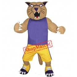 Sport Cougar Mascot Costume Free Shipping