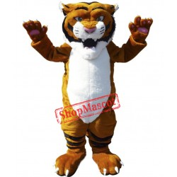 Power Fierce Tiger Mascot Costume