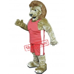 Power Lightweight Lion Mascot Costume