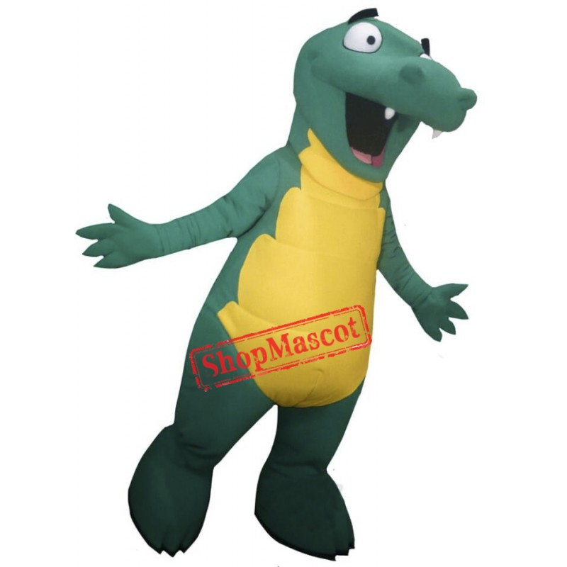 Cute Lightweight Alligator Mascot Costume
