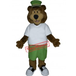 Cute Lightweight Bear Mascot Costume