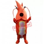 High Quality Red Lobster Mascot Costume