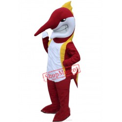 High Quality Marlin Fish Mascot Costume