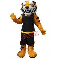 College Fierce Tiger Mascot Costume