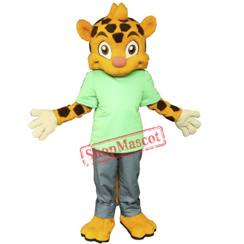 College Lightweight Tiger Mascot Costume