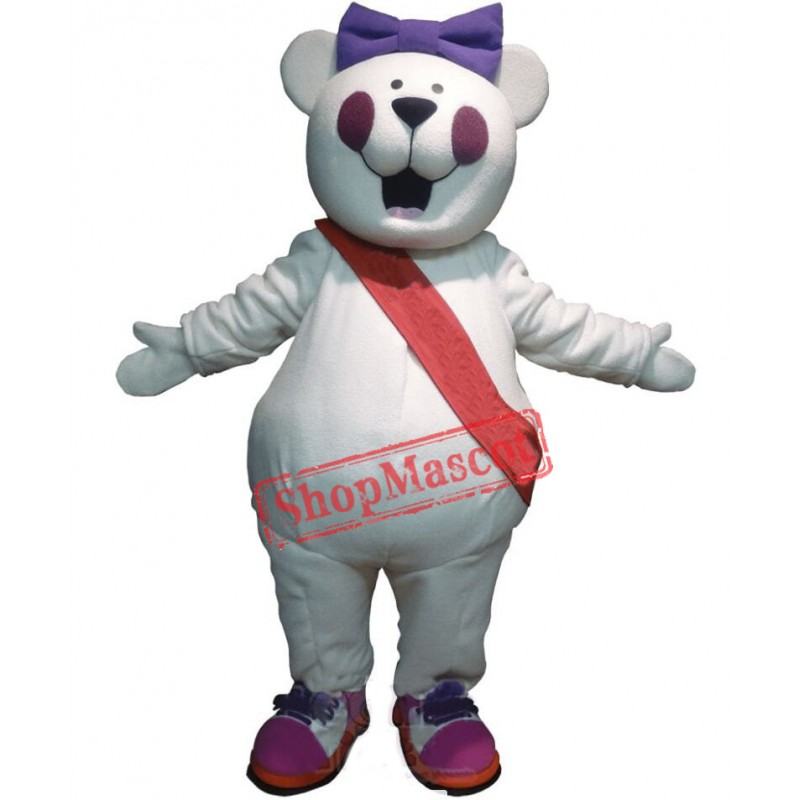 Cute Funny Bear Mascot Costume