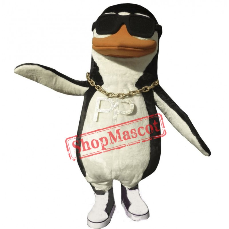 Rap Penguin Mascot Costume