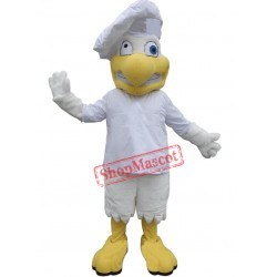 Funny Chef Chicken Mascot Costume