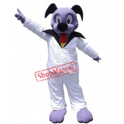 Cute Purple Dog Mascot Costume