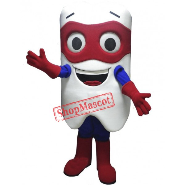 Hero Tooth Mascot Costume