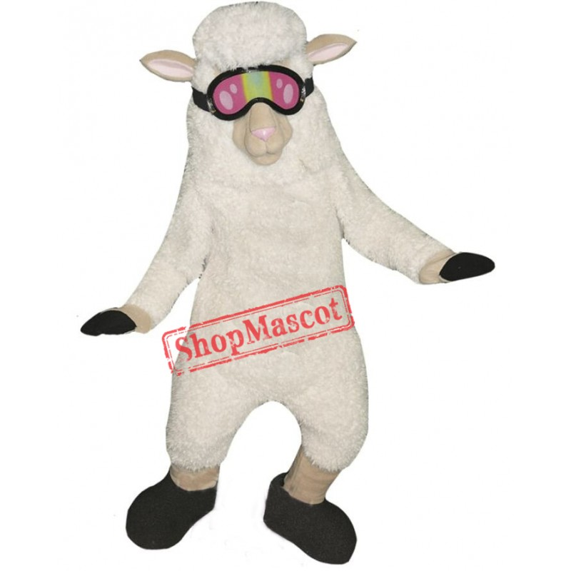 Cute Lightweight Sheep Mascot Costume