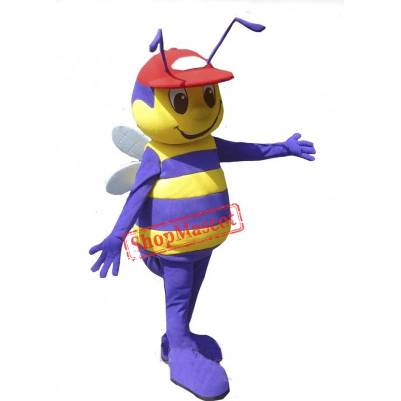 Boy Bee Mascot Costume
