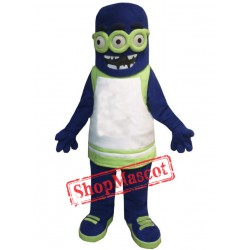 Multi-eyed Monster Mascot Costume