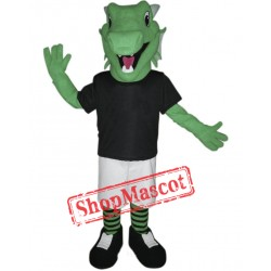 Green Lightweight Dragon Mascot Costume