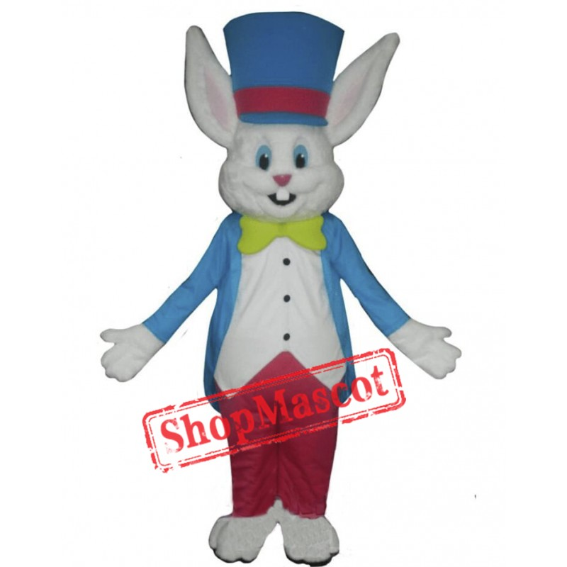 Happy Lightweight Rabbit Mascot Costume