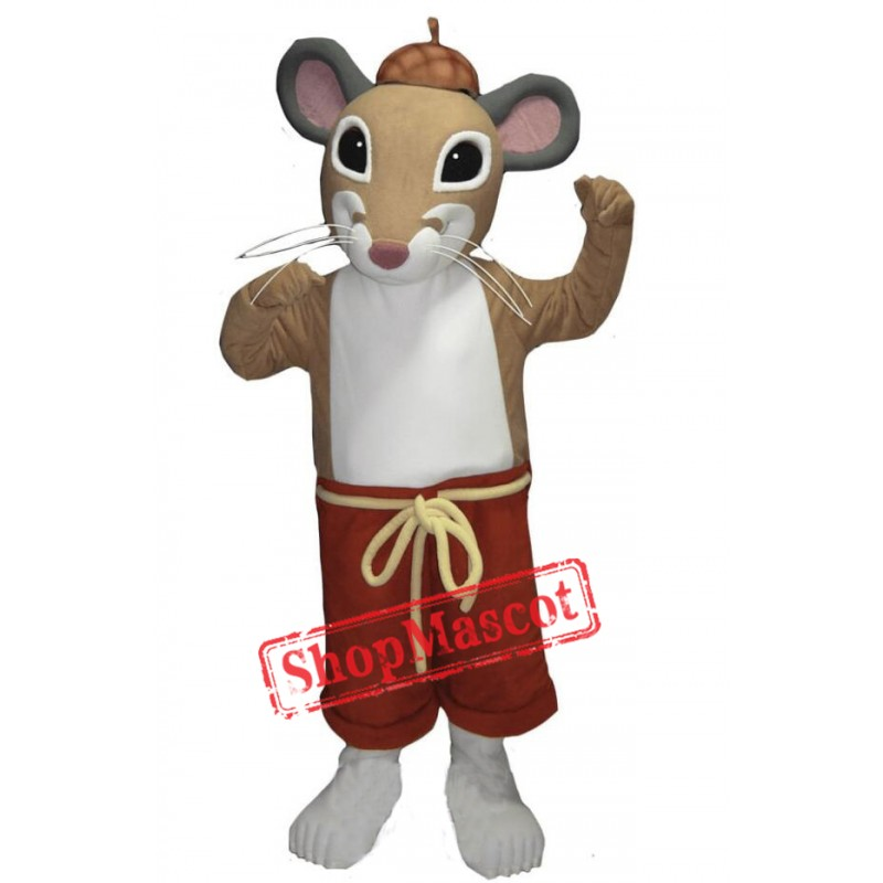 Cute Lightweight Mouse Mascot Costume