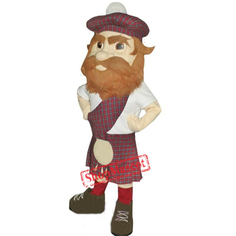 High Quality Lightweight Highlander Mascot Costume