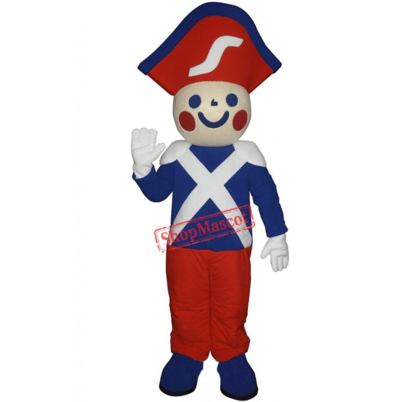 High Quality Soldier Mascot Costume